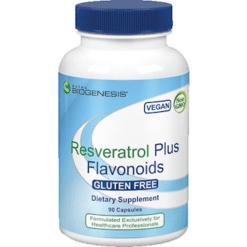 Nutra Biogenesis Resveratrol Plus Flavonoids 90 vegcaps RESVE3
