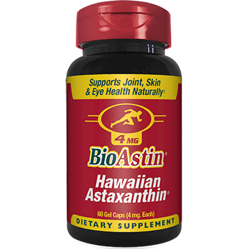 Nutrex Inc. BioAstin 4 mg 60 gels NX3508