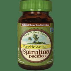 Nutrex Inc. Spirulina Pacifica Hawaiian 500 mg 10 NX1001