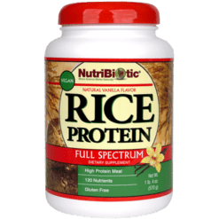 Nutribiotic Inc. Rice Protein Vanilla 22.9 oz VEGA2