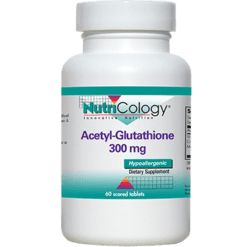 Nutricology Acetyl Glutathione 300 mg 60 tablets N7060