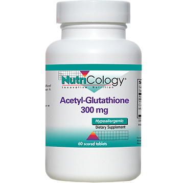 Nutricology Acetyl Glutathione 300 mg 60 tablets N7060