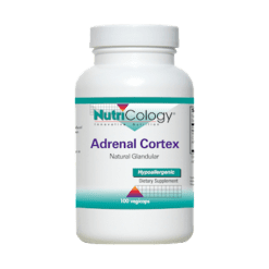 Nutricology Adrenal Cortex Glandular 100 vegcaps N50531
