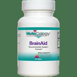 Nutricology BrainAid 60 tabs BRA23