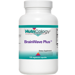 Nutricology Brainwave Plus 120 vegetarian capsules BRA24