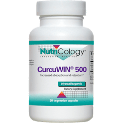 Nutricology CurcuWIN 500 30 vegcaps N72911
