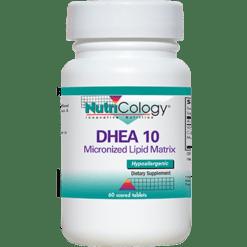 Nutricology DHEA 10 mg 60 tabs DHE50
