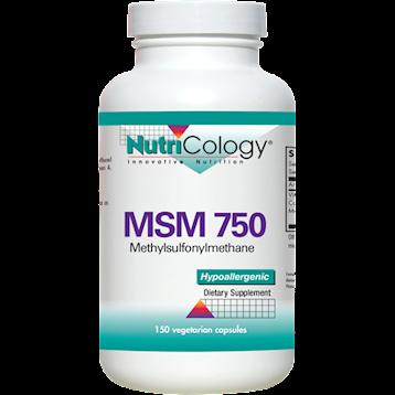 Nutricology MSM 750 150 vegcaps N28512