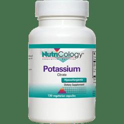 Nutricology Potassium Citrate 99 mg 120 caps POTA
