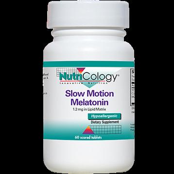 Nutricology Slow Motion Melatonin 60 tablets N52231