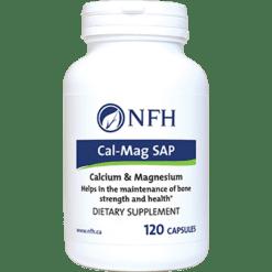 Nutritional Fundamentals for Health Cal Mag SAP 120 caps NF0112