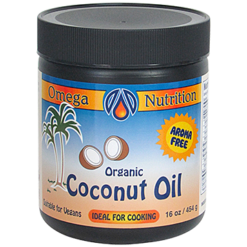 Omega Nutrition Coconut Oil 16 oz COC16