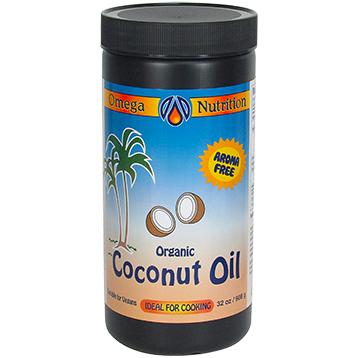 Omega Nutrition Coconut Oil 32 oz COC32