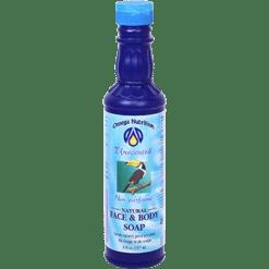 Omega Nutrition Natural Face amp Body Soap 8 oz FBU8