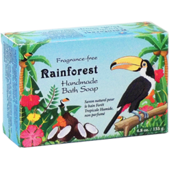 Omega Nutrition Rainforest Handmade Bath Soap 4.8 oz BSR48