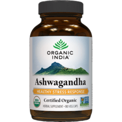 Organic India Ashwagandha 180 vegcaps O12461