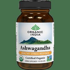 Organic India Ashwagandha 90 vegcaps R00168