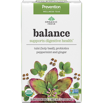 Organic India Prevention Balance 18 tea bags O00137