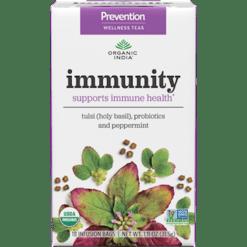 Organic India Prevention Immunity 18 tea bags O00144