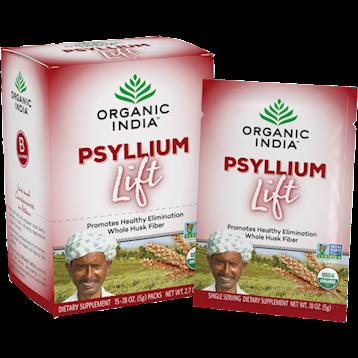 Organic India Psyllium Lift 15 packs O12690
