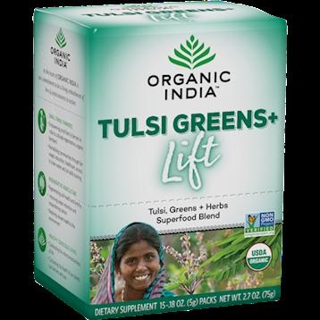 Organic India Tulsi Greens Lift box 15 servings R14724