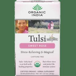 Organic India Tulsi Sweet Rose 18 bags R00161