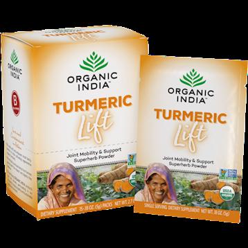 Organic India Turmeric Lift 15 packs O12676