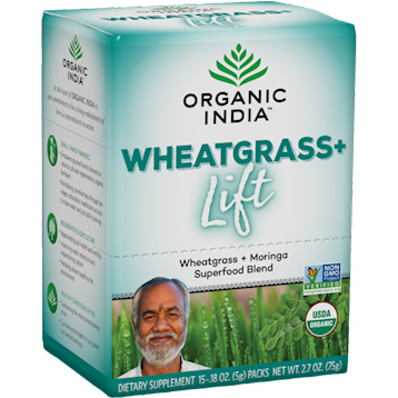 Organic India Wheatgrass Lift Box 15 Servings R14694