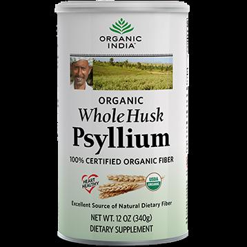 Organic India Whole Husk Psyllium 12 oz R07612