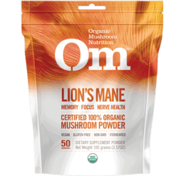 Organic Mushroom Lion039s Mane Hericium erinaceous 100 g OM2096