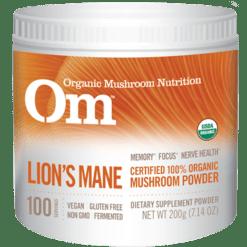 Organic Mushroom Lion039s Mane Hericium erinaceous 200 g OM4237