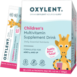 Oxylent Children039s Multi Bubbly Berry 30 packets VT2413
