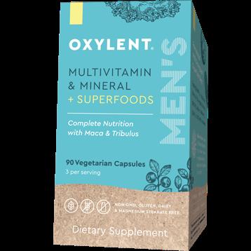Oxylent Men039s Multi amp Mineral 90 vegcaps VT0285