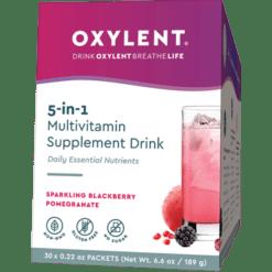 Oxylent Oxylent Sparkling Black Pom 30 packets VT2031