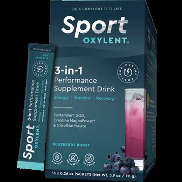 Oxylent Sport Blueberry Burst 15 packets VT2642