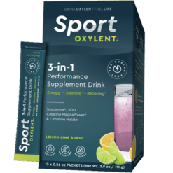 Oxylent Sport Lemon Lime Burst 15 packets VT2659