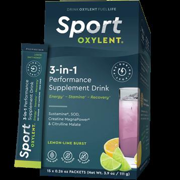 Oxylent Sport Lemon Lime Burst 15 packets VT2659