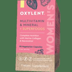 Oxylent Women039s Multi amp Mineral 90 vegcaps VT0284