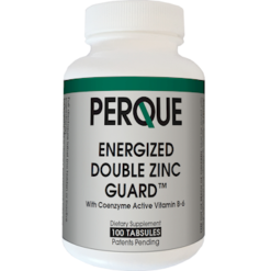 PERQUE Energized Double Zinc Guard 100 tablets ENER9