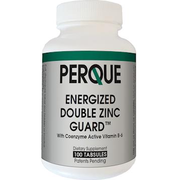 PERQUE Energized Double Zinc Guard 100 tablets ENER9