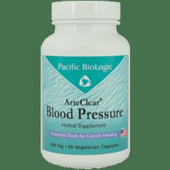 Pacific BioLogic ArteClear Blood Pressure 90 vegcaps ARTC3