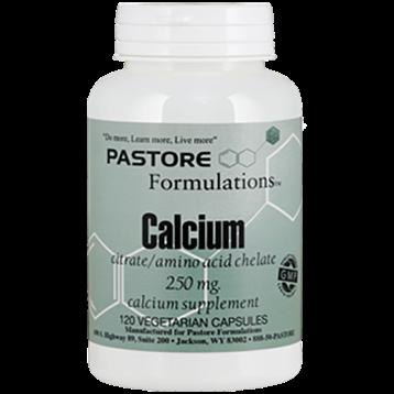 Pastore Formulations Calcium Citrate 250 mg 120 capsules PTF7