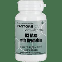 Pastore Formulations D3 Max 2000 IU 60 capsules PTF11