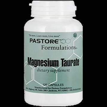 Pastore Formulations Magnesium Taurate 120 capsules PTF1