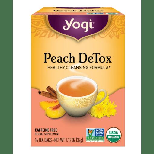Yogi Teas- Peach DeTox