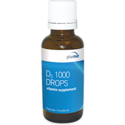 Pharmax D3 1000 Drops 1 oz PH5330