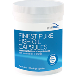 Pharmax Finest Pure Fish Oil 120 softgels FINE4