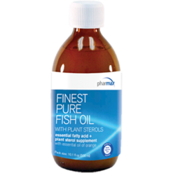 Pharmax Finest Pure Fish Oil Plant Ster 10.1 oz FINE5
