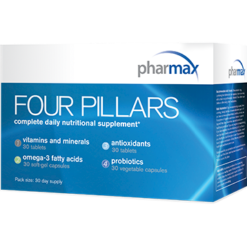 Pharmax Four Pillars Daily Supplement 30 servings FOURP