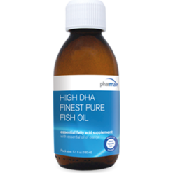 Pharmax High DHA Finest Pure Fish Oil 5.1 fl oz HIGH3